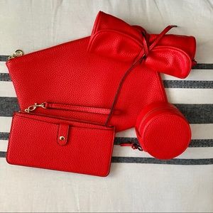 Red Travel Bag Collection